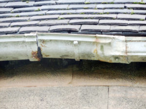 Its easy to tell when your gutters are sick and need replacement